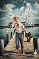 Huckle-Berry-Finn by Art-Kombinat