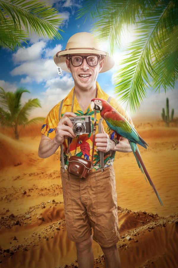 The Tourist by Art-Kombinat