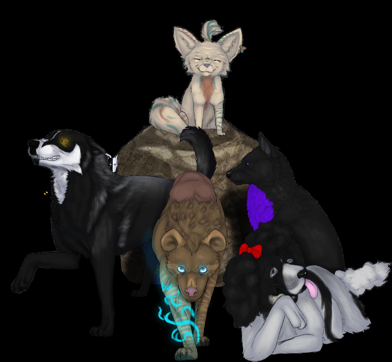 [AOT] Sek's Squad by The-Last-Archon