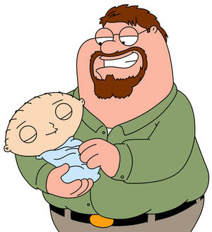 Peter Griffin and Stewie