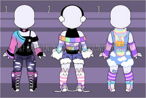 .: [CLOSED] Outfit Adopts Set 1 [USD/PTS] :.
