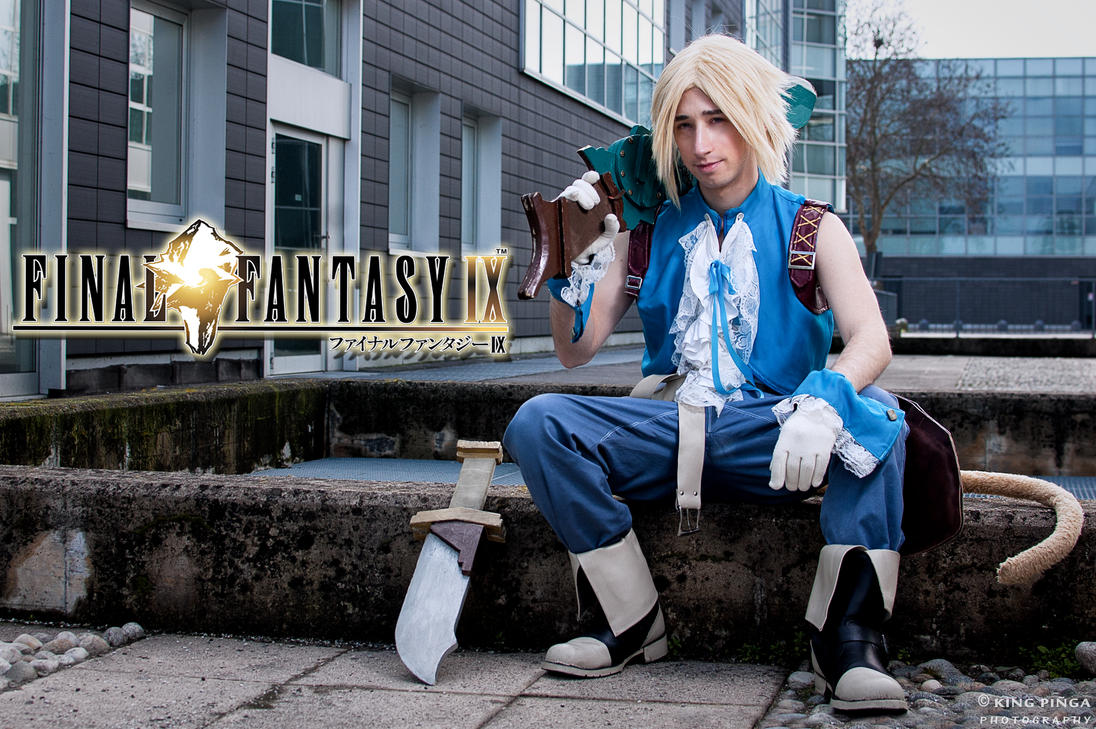 Zidane From Final Fantasy IV by Kngpinga
