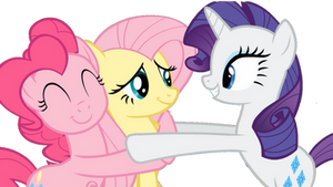 Rarity, Pinkie and Fluttershy