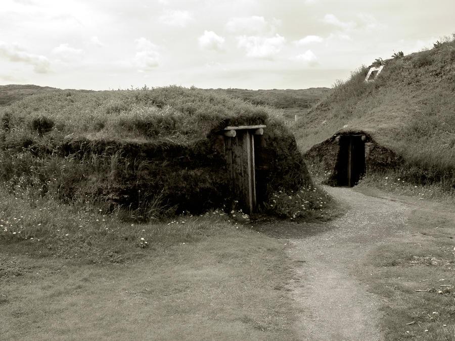 Viking settlement by LucieG-Stock