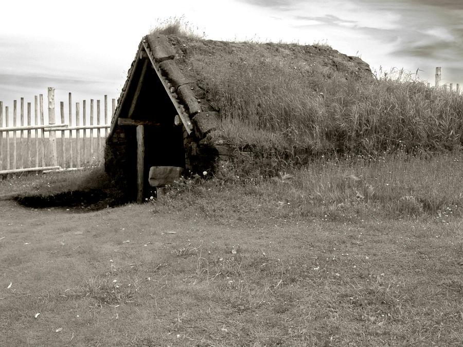 Viking settlement 4 by LucieG-Stock