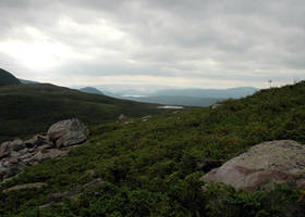 Climbing Gros Morne 2 by LucieG-Stock