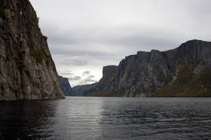 Western Brook pond in the fall