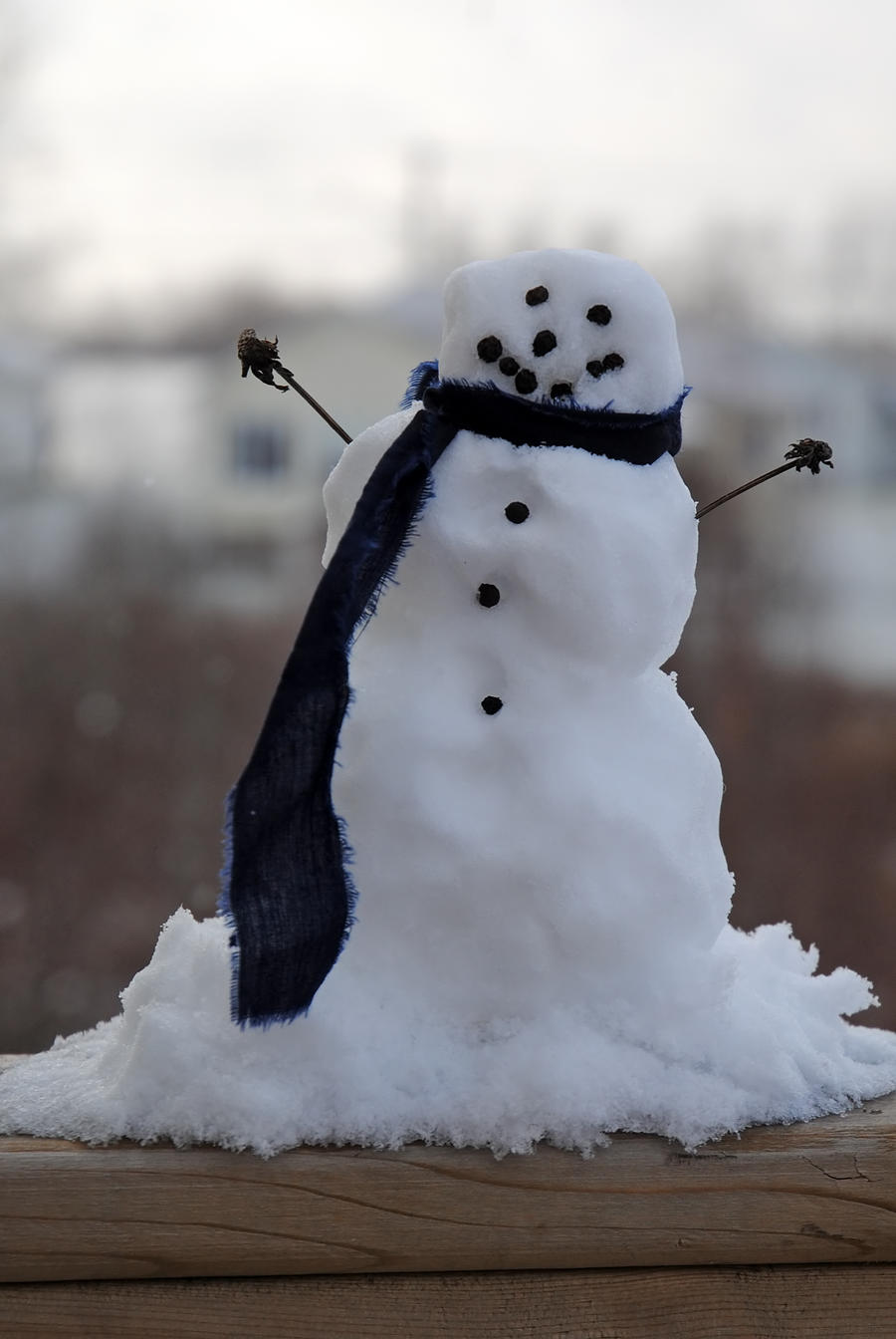 mini snowman by lucieg stock on deviantart