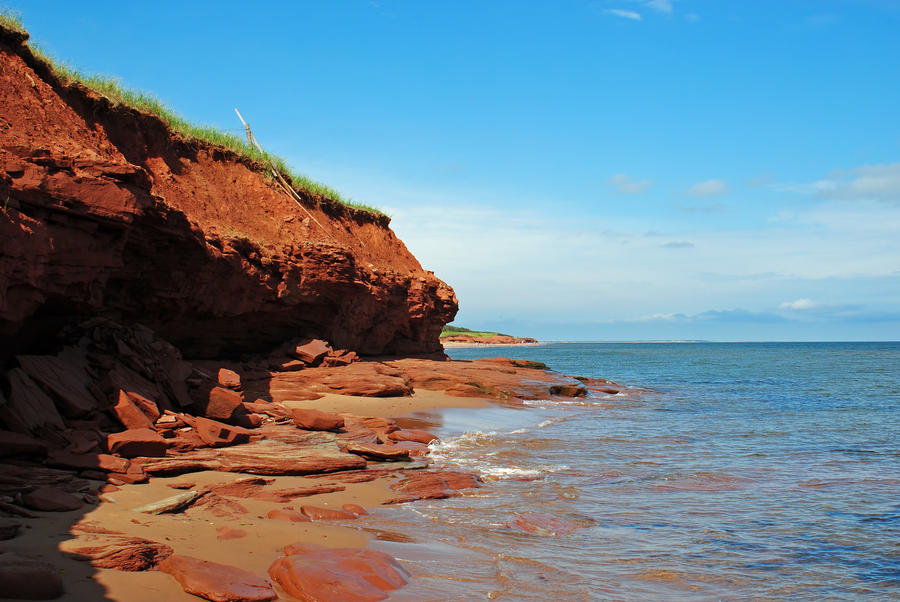 red cliffs 2 by LucieG-Stock