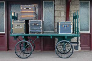 Luggage wagon by LucieG-Stock