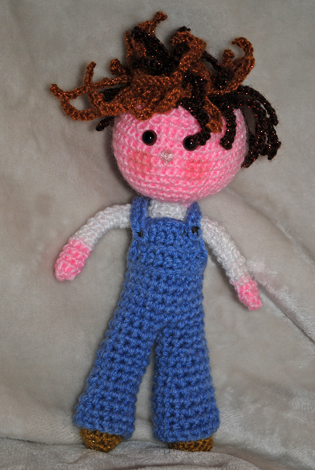Bad hair day doll by LucieG-Stock