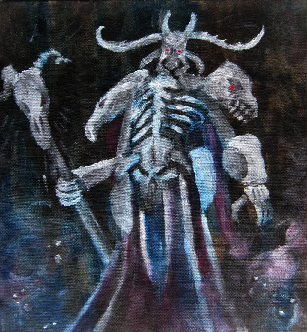 Hades - God of the Underworld (Smite Fanart) by ...