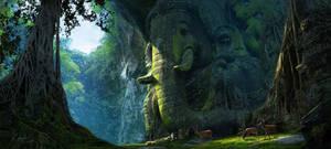 Unexplored Ruins by RenjuArt