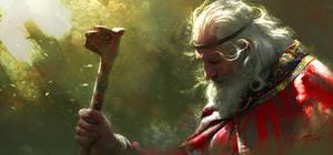 Old King by RenjuArt