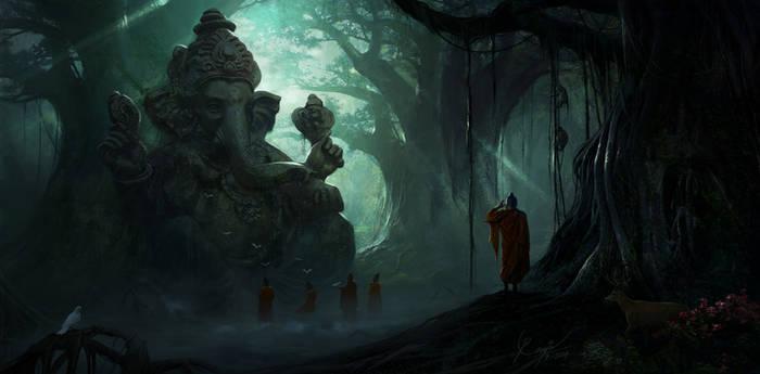 Ganesh Ruins concept