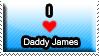 I Heart Daddy James Stamp by FireKunai