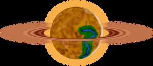 Desolaris, The Ringed Desert Planet