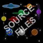 Ringed Planet Source Files -- Available at OGA!