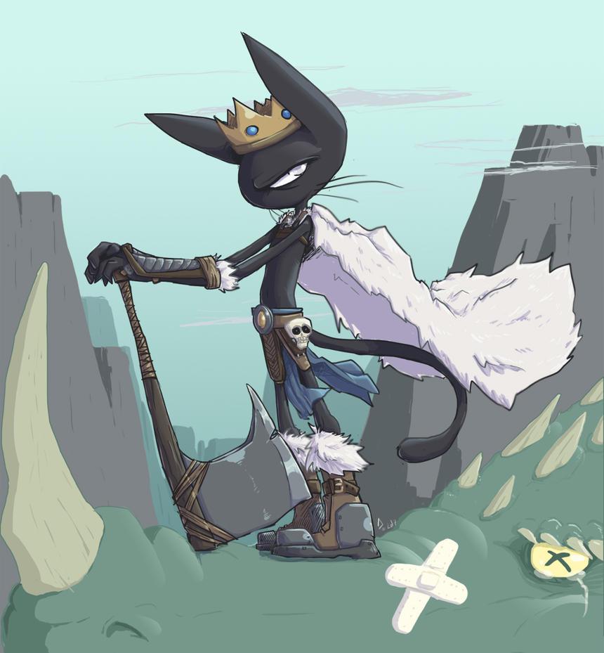 Barbarian king Arise by DarkMinou