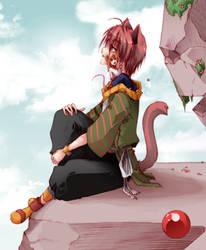 Cat + Mouse by saiyukiluver