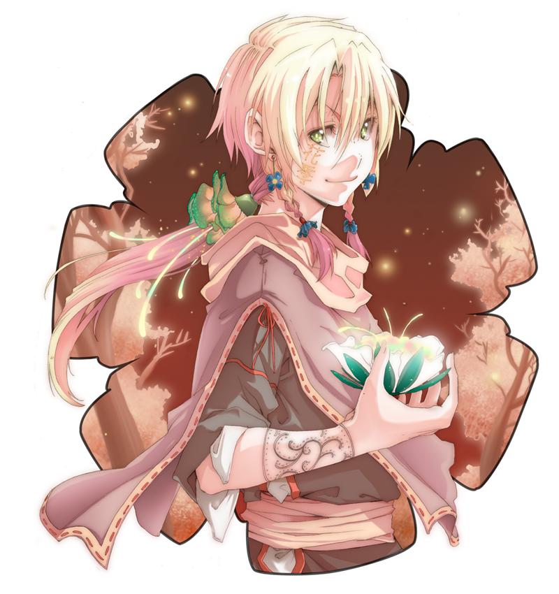 Hanadoki Mascot Entry by saiyukiluver