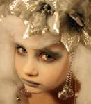 Winter Fairy Portrait Stock