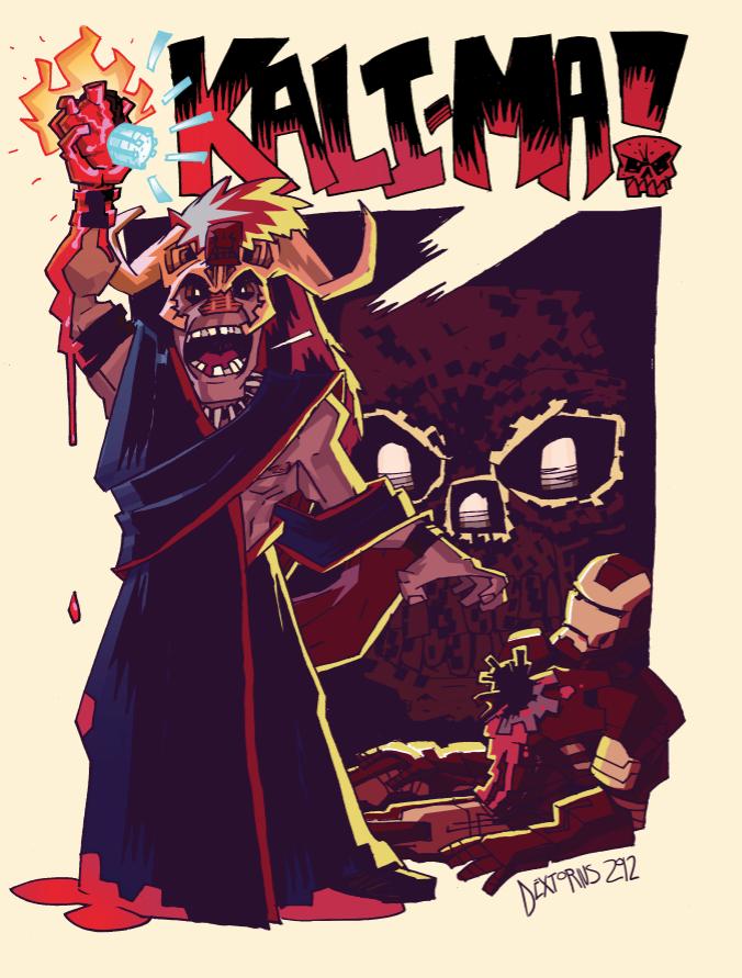Iron Man Versus The Temple Of Doom By Dextorius On Deviantart