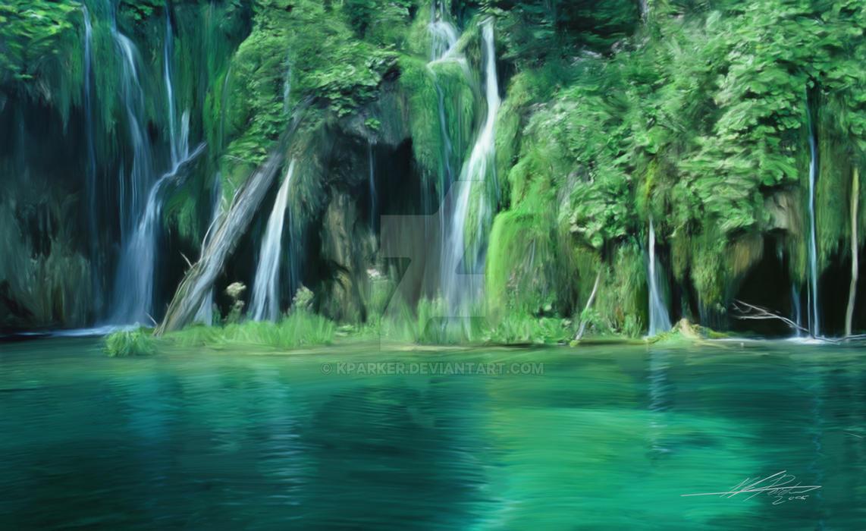 Waterfalls by Kparker