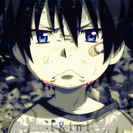 Ao No Exorcist - Rin Okumura icon by LeiaMordio
