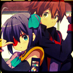 chuunibyou rikka and yuuta wallpapers - photo #12