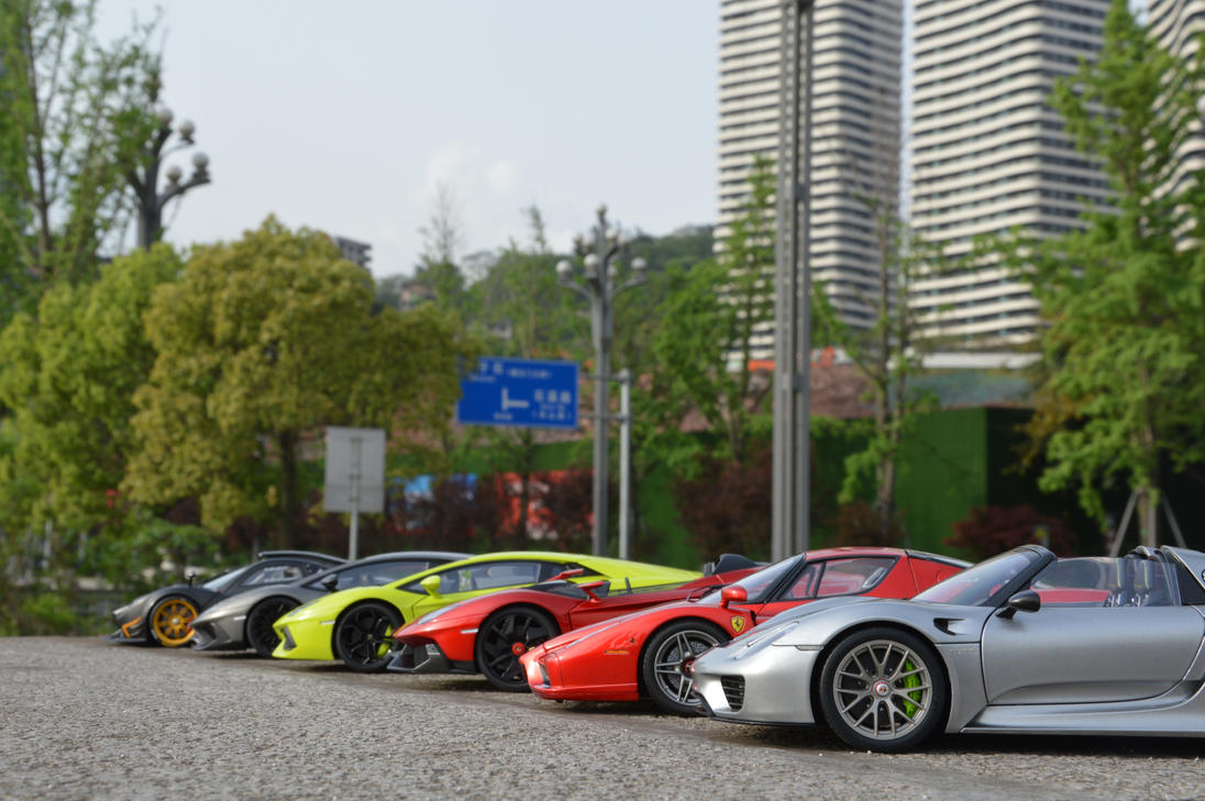Supercars for everyone by nismoz