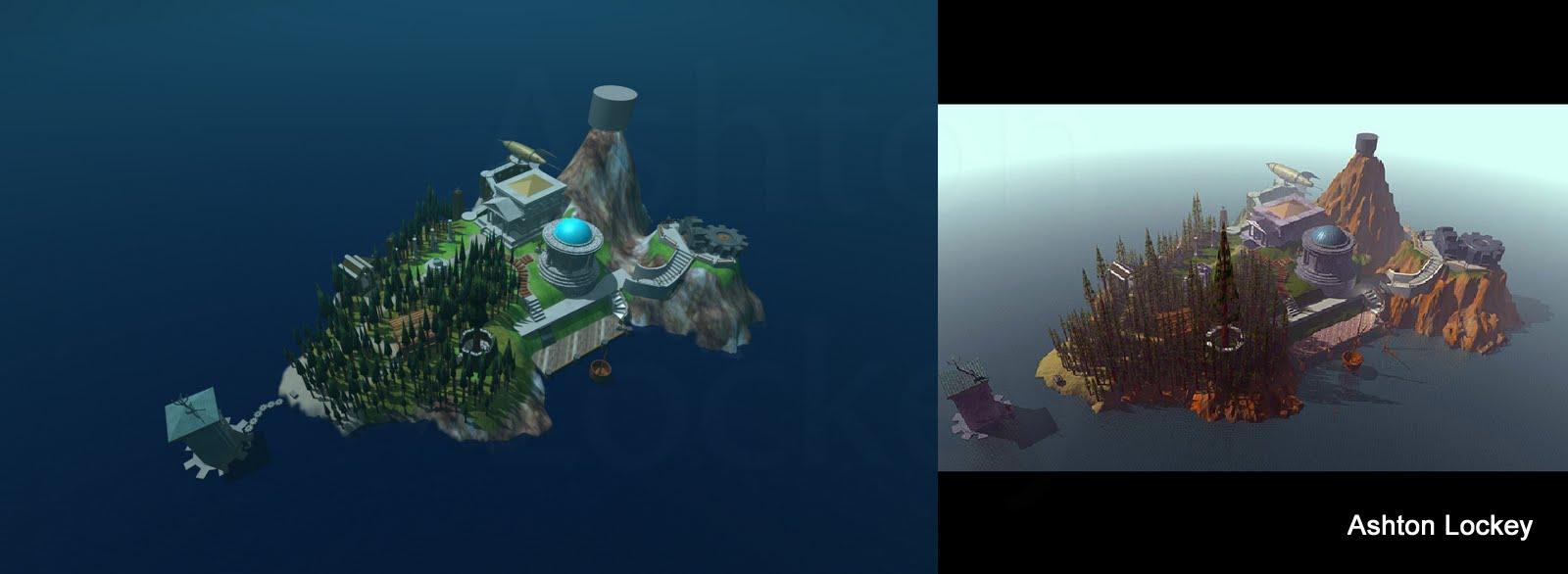 Myst Island Hd Comparison By Piththeexplorer On Deviantart
