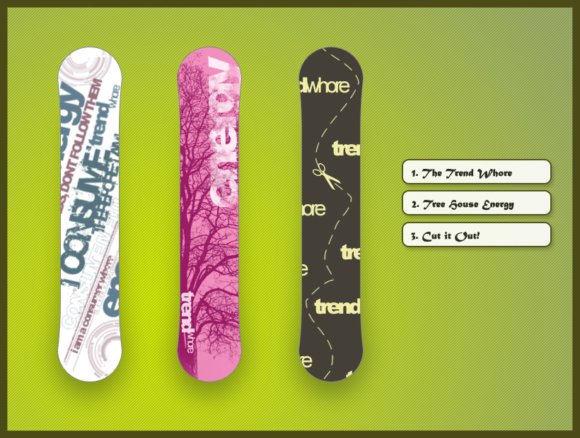 Snowboard Designs 1 by jawalyfe