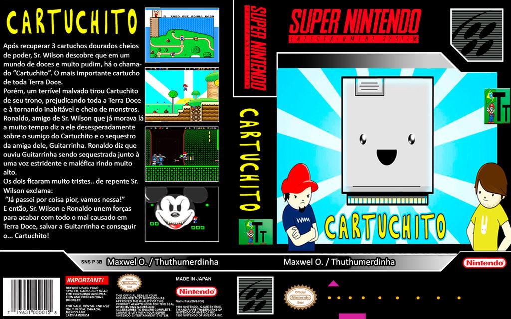 Cartuchito World - Capa para Wiiflow by ThuthuLittleShit on