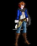 Typical RPG Hero... HoD Starting character