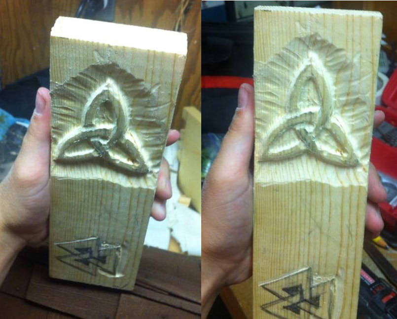 Relief carving with dremel by thespiffysatyr on deviantart