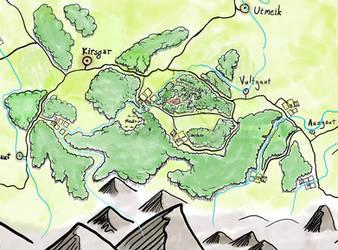 Fantasy Map - Farsenwol