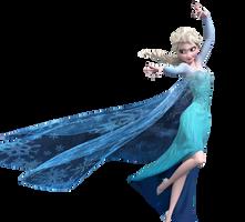 Elsa |Frozen| PNG by lulidiaz59