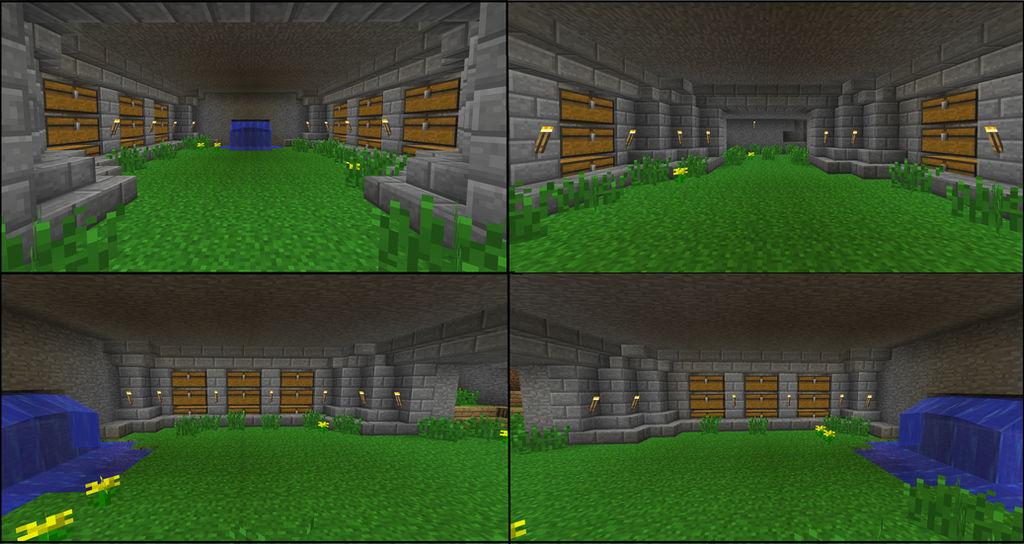 Minecraft Chest Room V 2 By Roxyroxas1313 On Deviantart