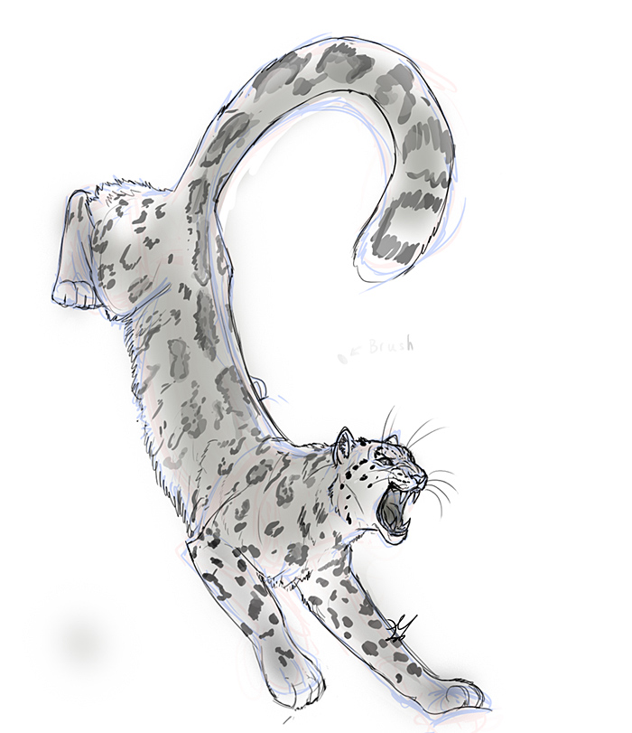 Snow Leopard by whisperpntr