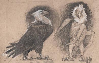 Frazzled Eagle