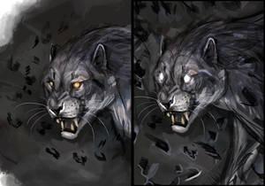 Meoran like cat and phantom cat