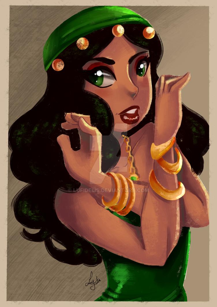 Esmeralda by lufidelis