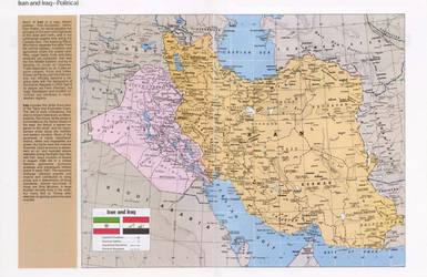 Islamic Republic of Iran and Republic of Iraq by Solar-Republic