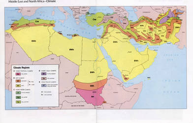 Middle East North Africa-Climate