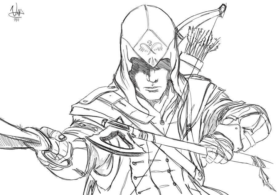 assassin s creed 3 by barbeanicolas on deviantart