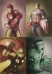 Avengers sketchs