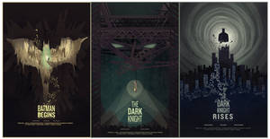 Batman movie posters