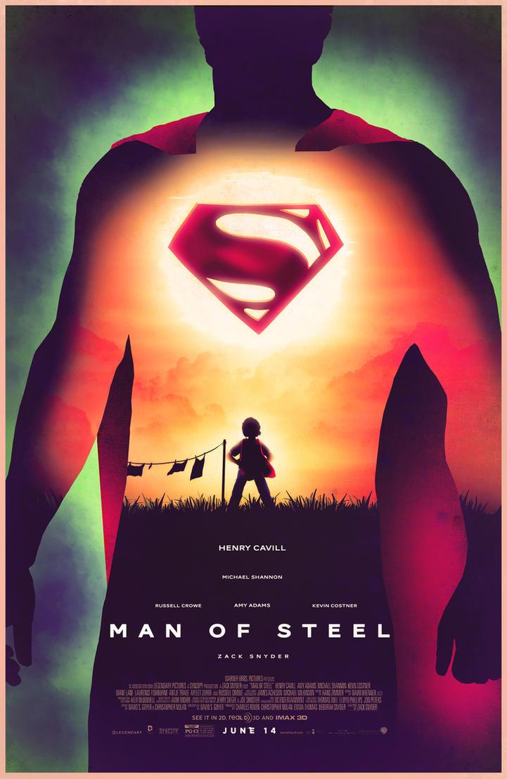 Man Of Steel Quotes Man Of Steel Posterbarbeanicolas On Deviantart