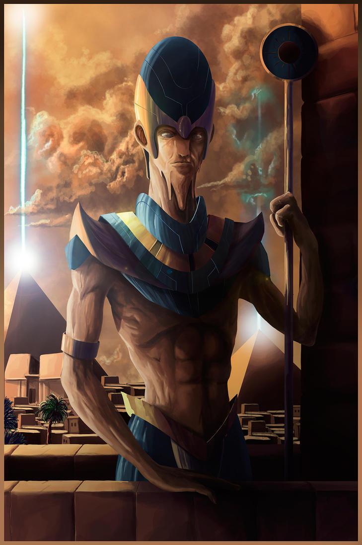 Pharaon by Barbeanicolas